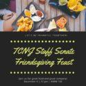 TCNJ Staff Senate Friendsgiving Feast